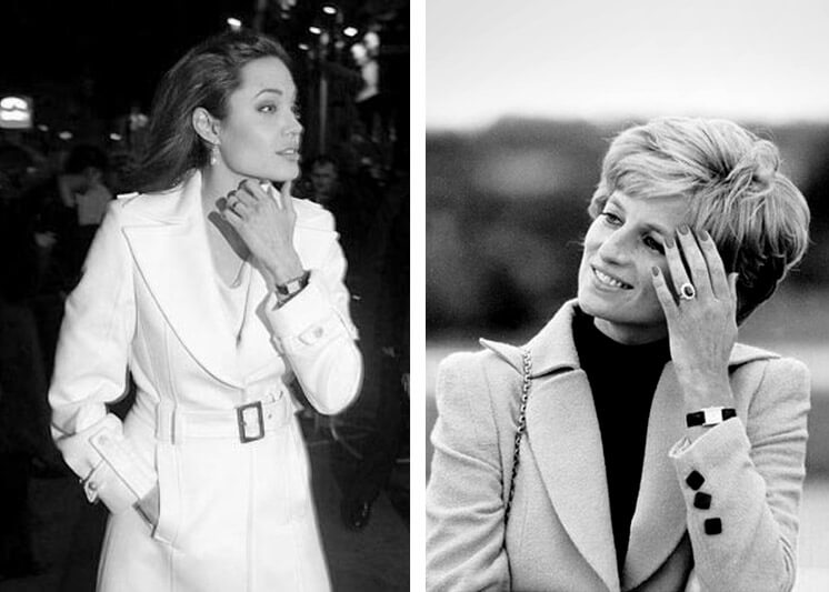 Est Magazine Cartier Tank Angelina Joli Lady Diana Spencer