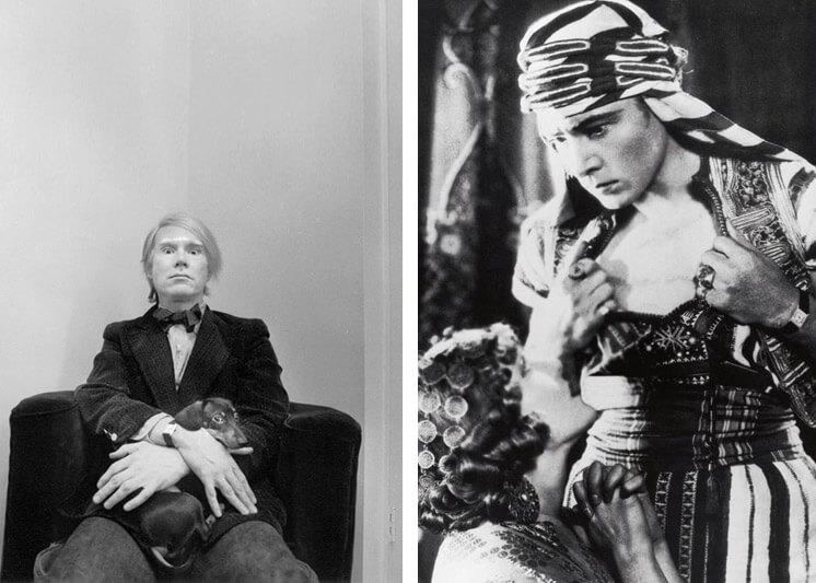Est Magazine Cartier Tank Andy Warhol Rudolph Valentino