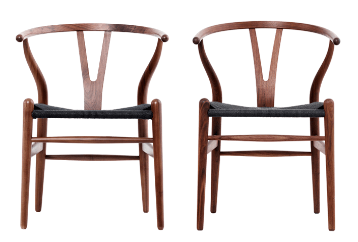 "The Hans J Wegner CH24 ""Wishbone Chair"""