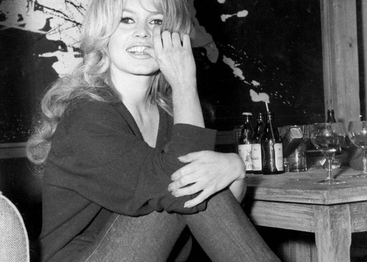 Brigitte Bardot slim pants jeans