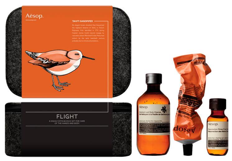 Est Magazine Aesop flight gift set big