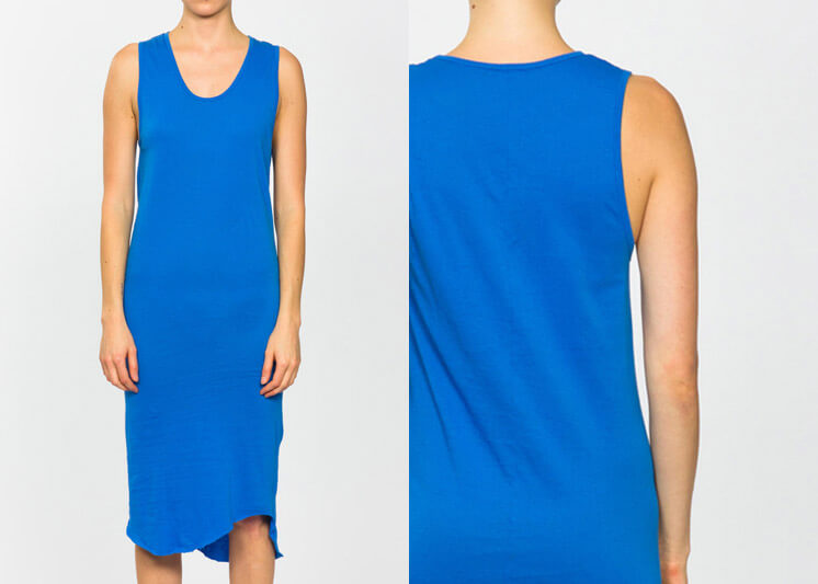 Est Magazine Bassike Bower Jersey Dress