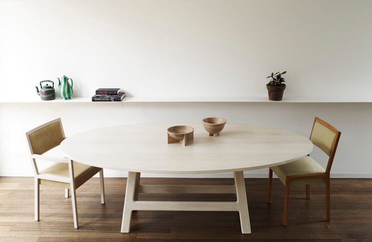 Est Magazine Pierre and Charlotte Pye Pedastal Table