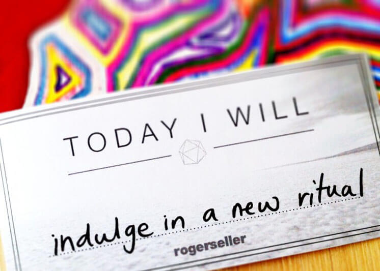 Rogerseller Indulge in a new ritual Est Magazine