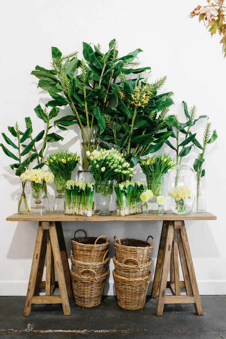 Fleur McHarg Floristry and Event Styling Trestle Table Est Magazine