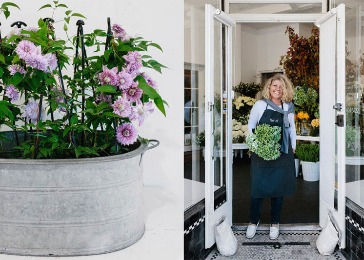 Fleur McHarg Portrait Shop Front | Floristry and Event Styling | Est Magazine