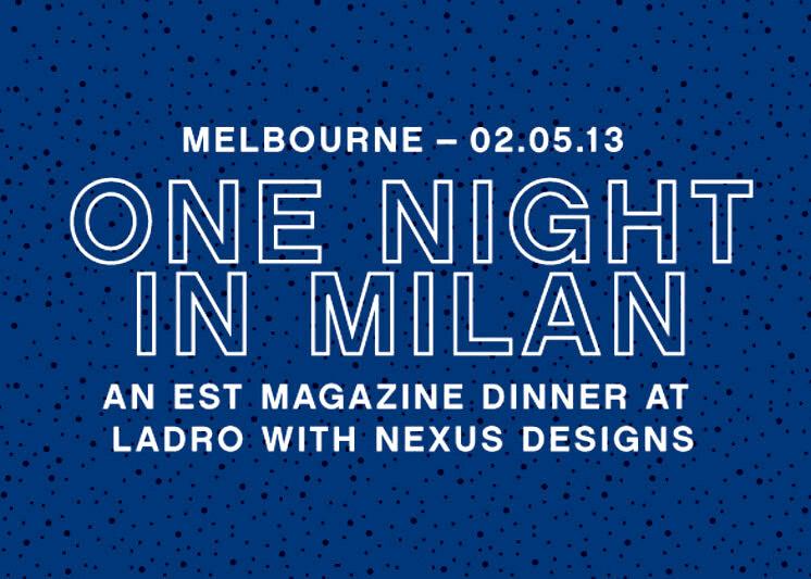 One Might in Milan Ladro Nexus Est Magazine 746x533