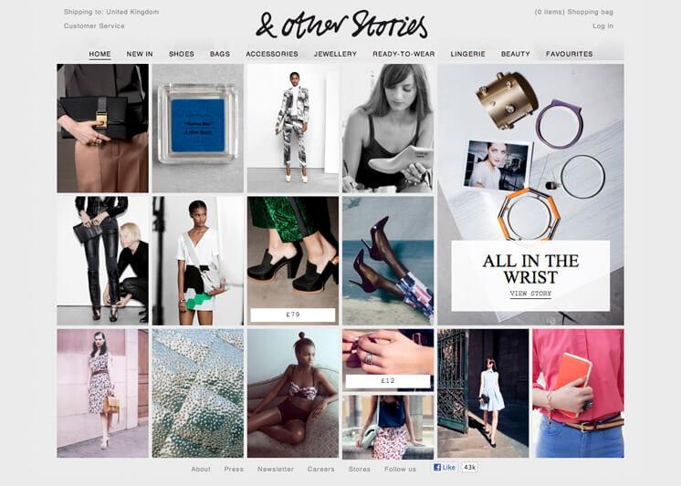 & Other Stories | Website | Est Magazine