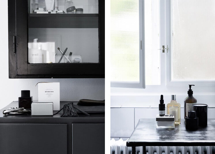Black and white details | Yvonne Kone Home | © Line Klein for Elle Decoration | Est Magazine