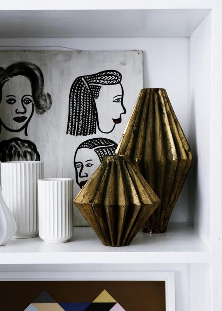 Bronze Ornaments | Yvonne Kone Home | © Line Klein for Elle Decoration | Est Magazine