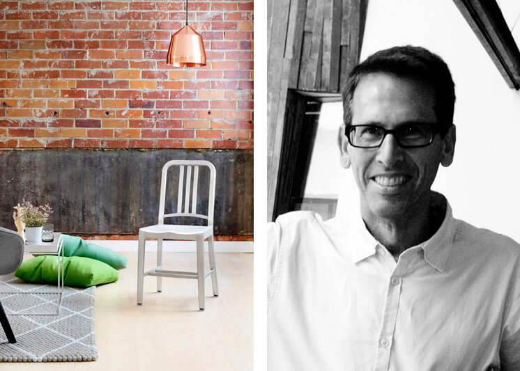 Emeco 1006 Navy Chair | CEO Gregg Buchbinder | © Toby Scott | Est Magazine