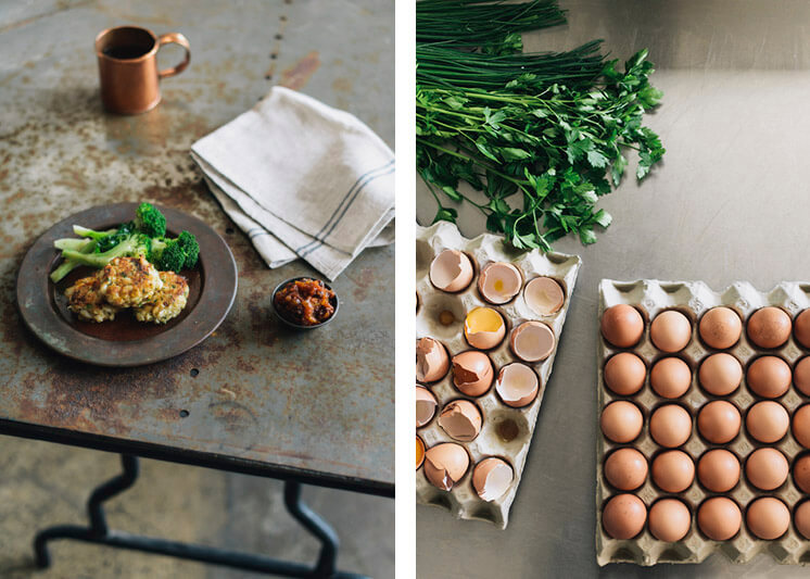 Egg Fritters Photographer Brooke Holm Est Magazine