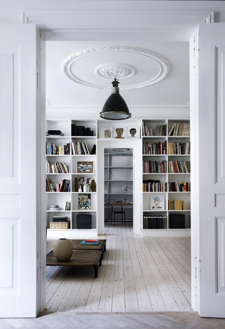 Library | Yvonne Kone Home | © Line Klein for Elle Decoration | Est Magazine