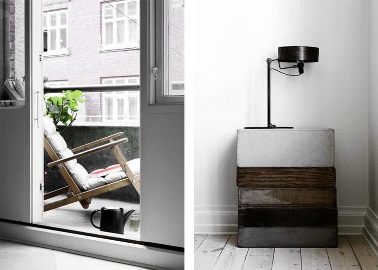Salvaged Timber | Yvonne Kone Home | © Line Klein for Elle Decoration | Est Magazine