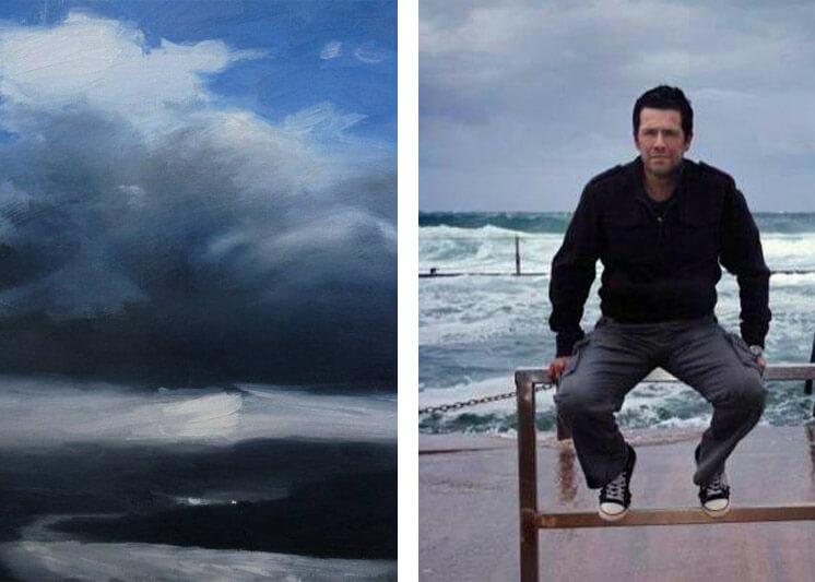Unknown territory 30 x 40 oil on canvas Darren Gannon Est Magazine