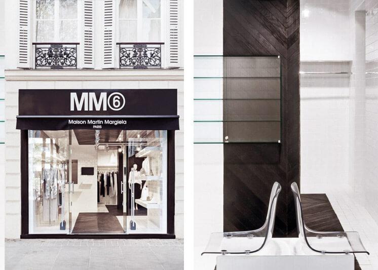 Maison Martin Margiela | Place du Marché Saint Honoré Paris boutique | Front Seating