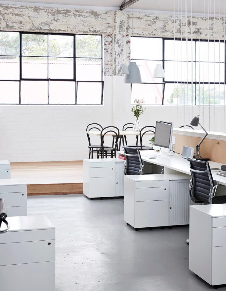 Studio Sisu workstations photographed by Sean Fennessy