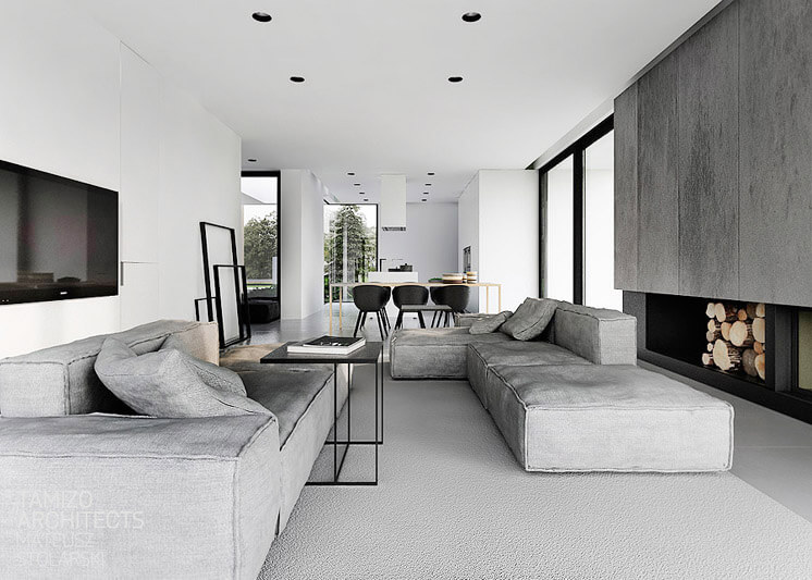 Tamizo Architects Mateusz StolarskiR-house 11   Est Magazine
