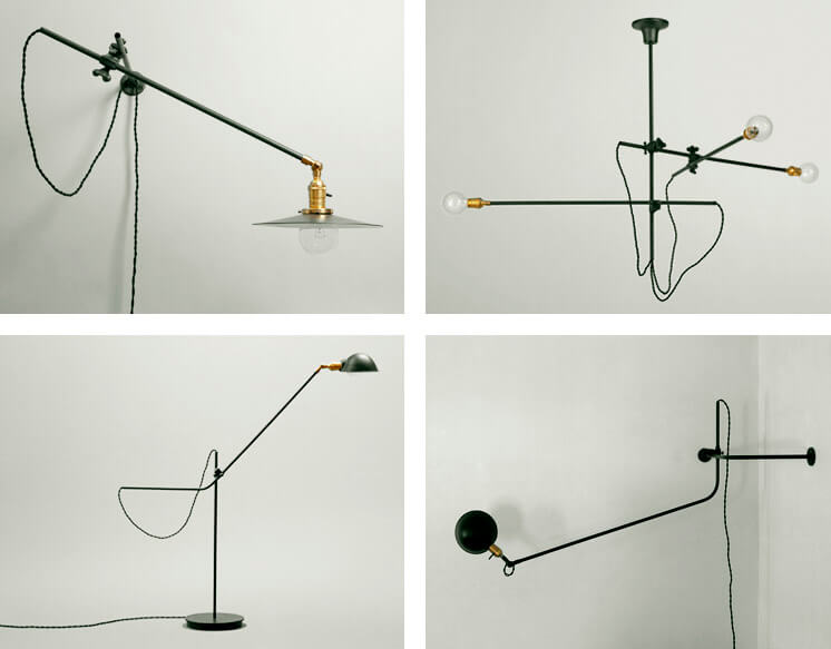 Worksted Industrial Chandelier and Lamps Est Magazine