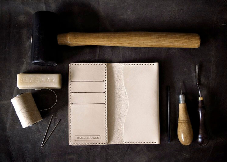 Bas and Lokes | Brent Bespoke leather iPhone wallet | Est Magazine