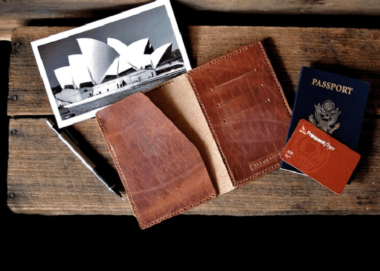 Bas and Lokes | Voyager passport wallet | Est Magazine