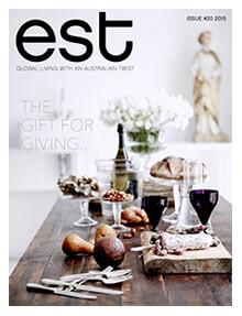 Est Magazine Issue 20 Cover Artwork