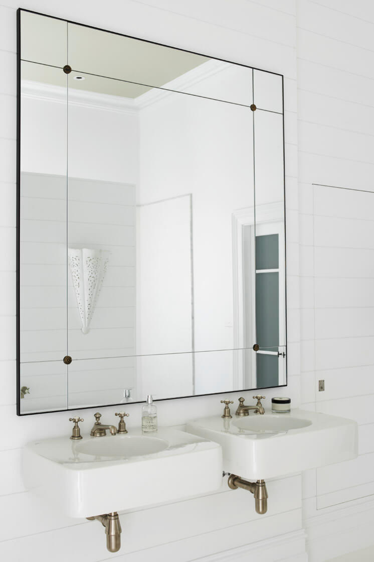 Justine Hugh-Jones Design | Bathroom Mirror | Est Magazine
