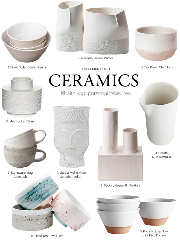 Design Covet | Ceramics | Est Magazine
