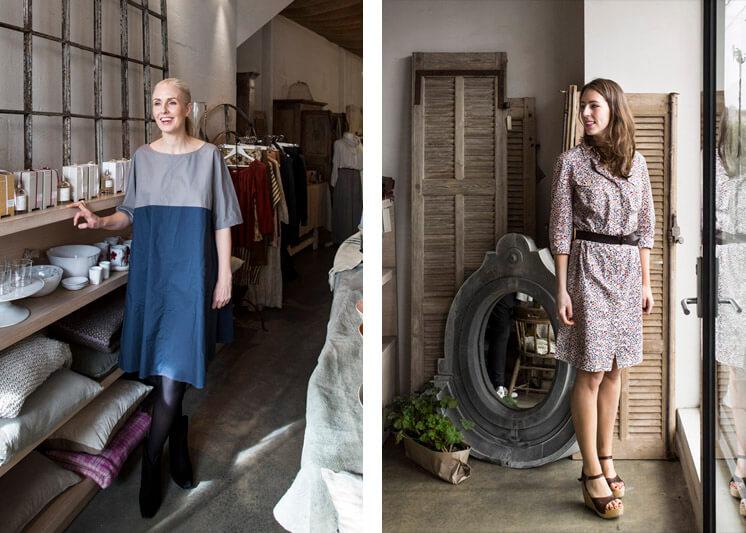 Manon Bis Shop Girl © Sarah Wood Est Magazine