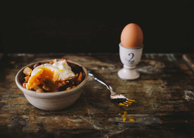 Mr Darcy Maxwell Relished Poached Egg Pot © Tori Simson Est Magazine
