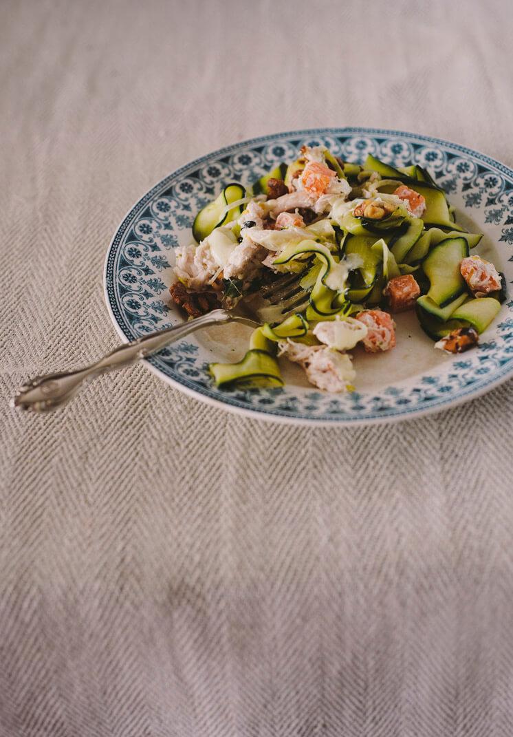 Mr Darcy Maxwell | Zucchini Pappardelle Eaten | © Tori Simson | Est Magazine