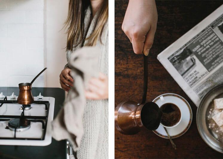 Stephanie Stamatis Turkish Coffee | © Tara Pearce 22 | Est Magazine