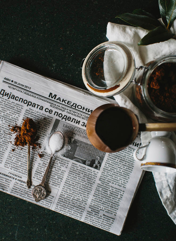 Stephanie Stamatis Turkish Coffee © Tara Pearce 27 Est Magazine