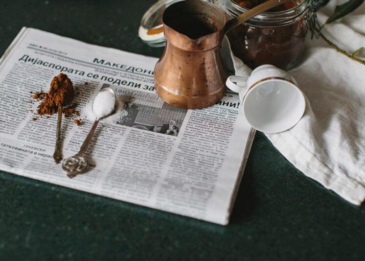 Stephanie Stamatis Turkish Coffee | © Tara Pearce 28 | Est Magazine
