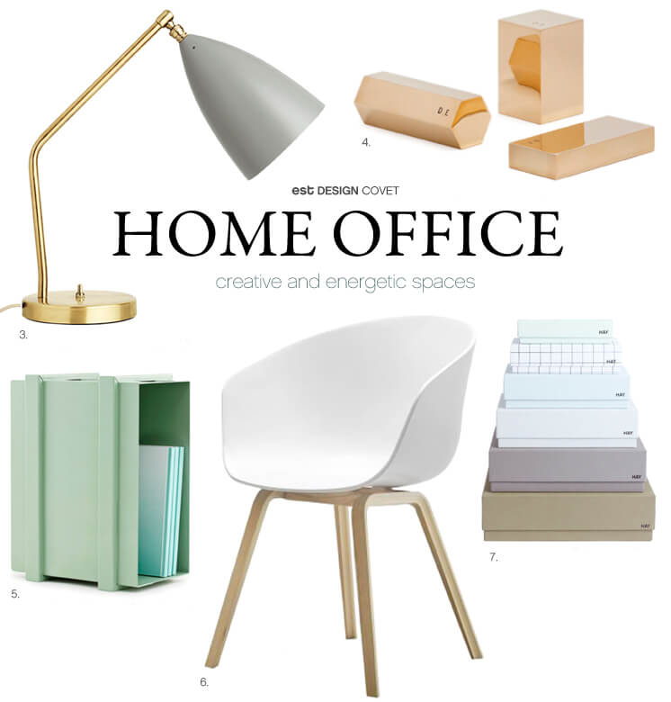 Design Covet Home Office Est Magazine