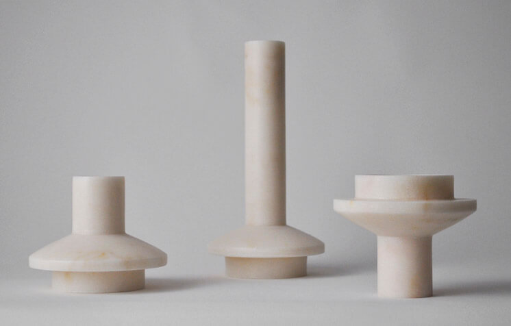 Michael Verheyden | lighthouse low and high candle sticks | Est Magazine