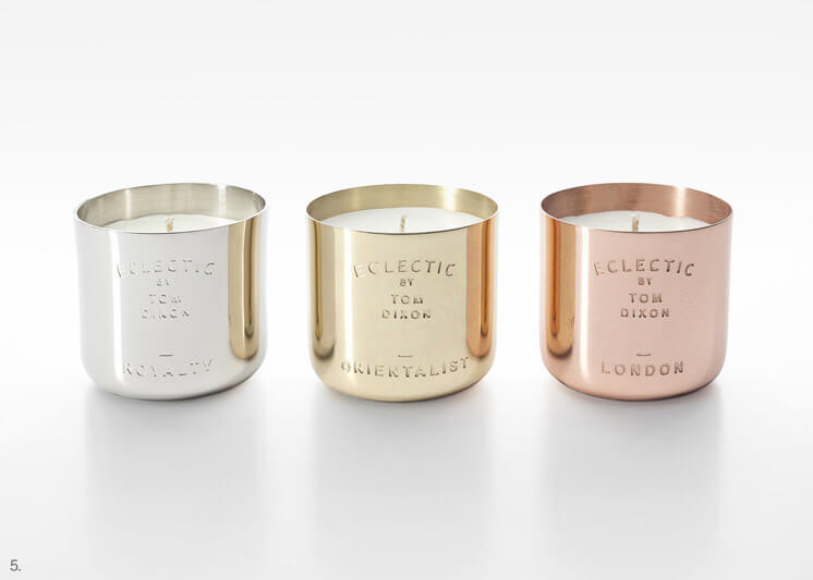 Tom Dixon Eclectic Scented Candle Gift Set | Est Magazine