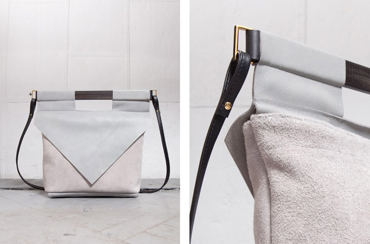 Chiyome | LT Grey Slim Bag | Est Magazine