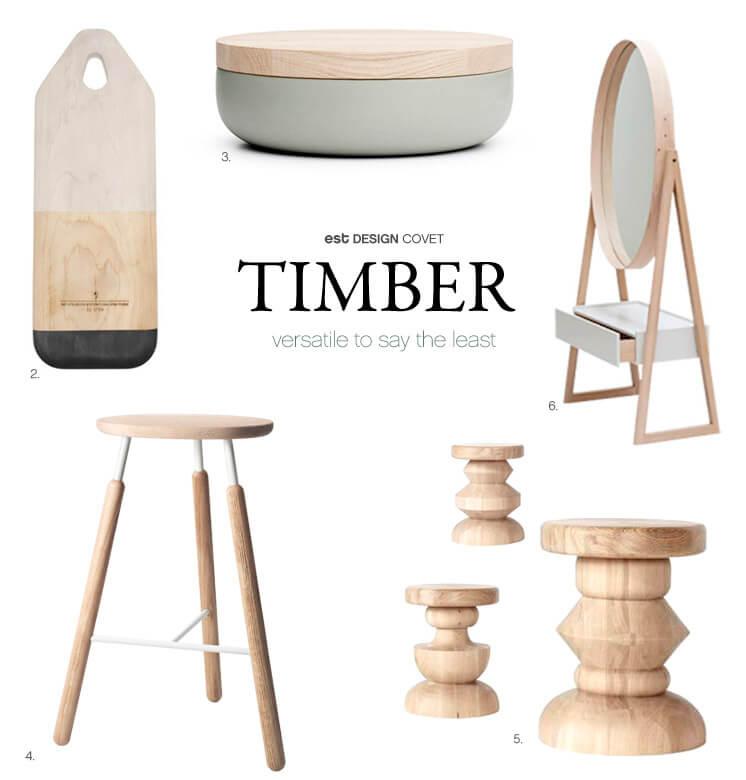 Design Covet | Timber | Versatile to say the least | Est Magazine
