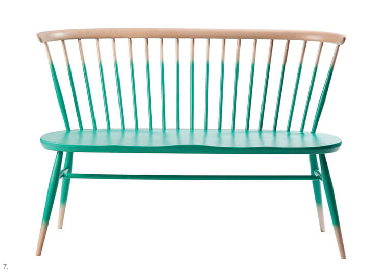 Design Covet Timber Love Seat by Ercol Est Magazine
