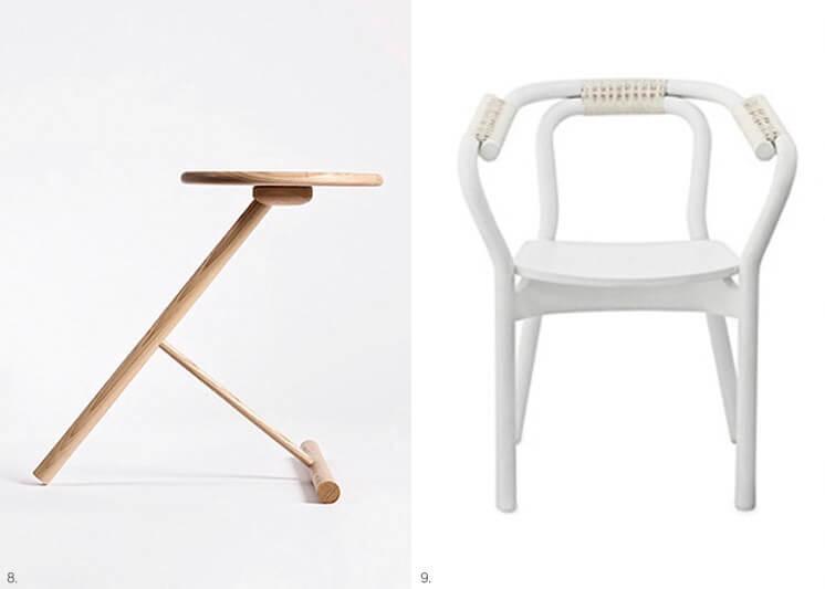 Design Covet | W3 Side Table by Nicolai Gulliksen | Knot Chair by Normann Copenhagen | Est Magazine