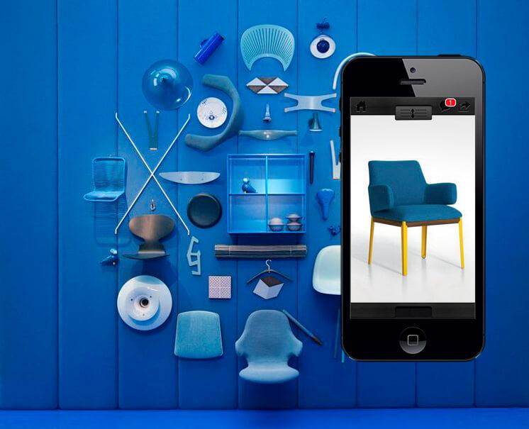 Design Daily App Blue David Harrison Est Magazine