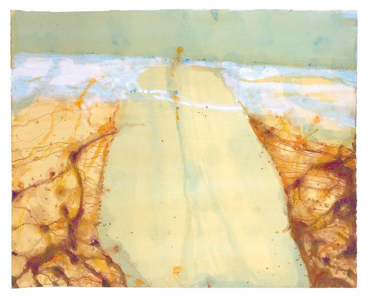 John Olsen | Lake Eyre - The Desert Sea | Est Magazine