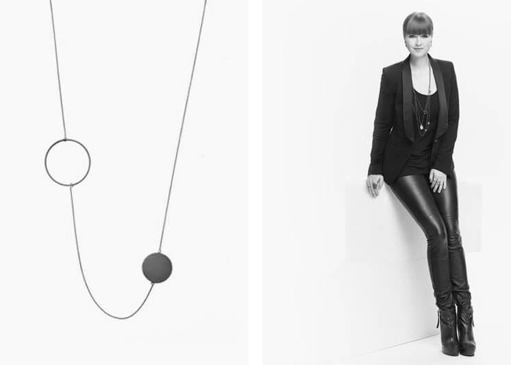 Marie Von Lotzbeck   Orbit Necklace   Est Magazine