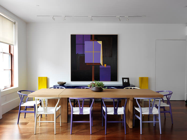 Nexus Tribeca Loft Apartment Dining 02 Est Magazine
