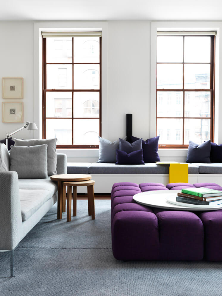 Decorar con Ultra Violet, color Pantone 2018