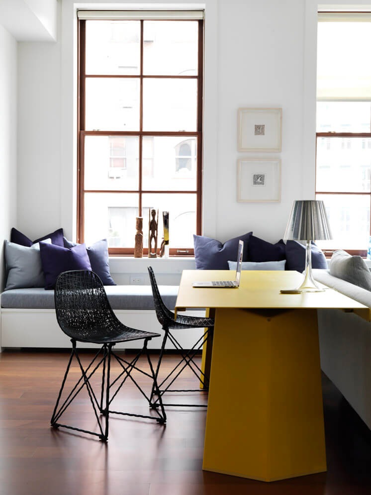 Nexus Tribeca Loft Apartment Living Room 02 Est Magazine