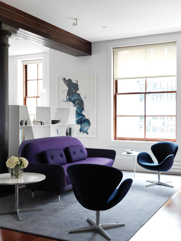 Nexus Tribeca Loft Apartment Lounge Est Magazine