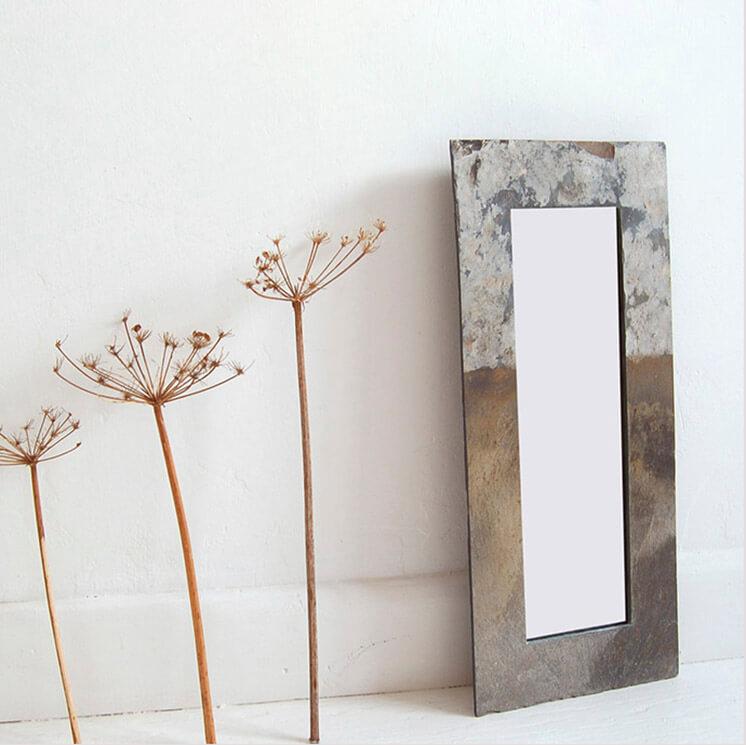 Slate Mirror   © Pacha Design   Est Magazine