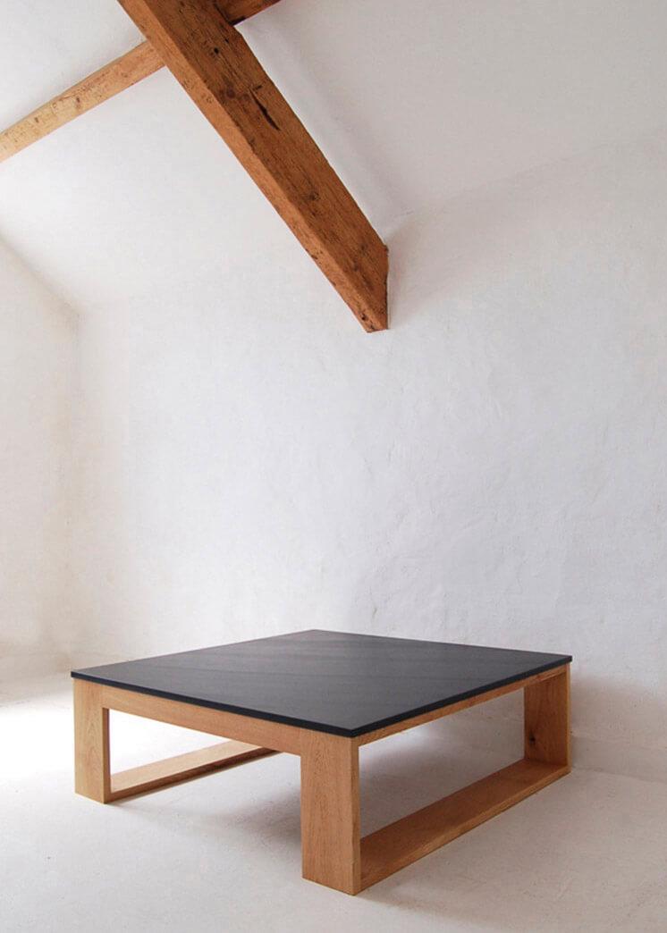 Square Slate Coffee Table   © Pacha Design   Est Magazine